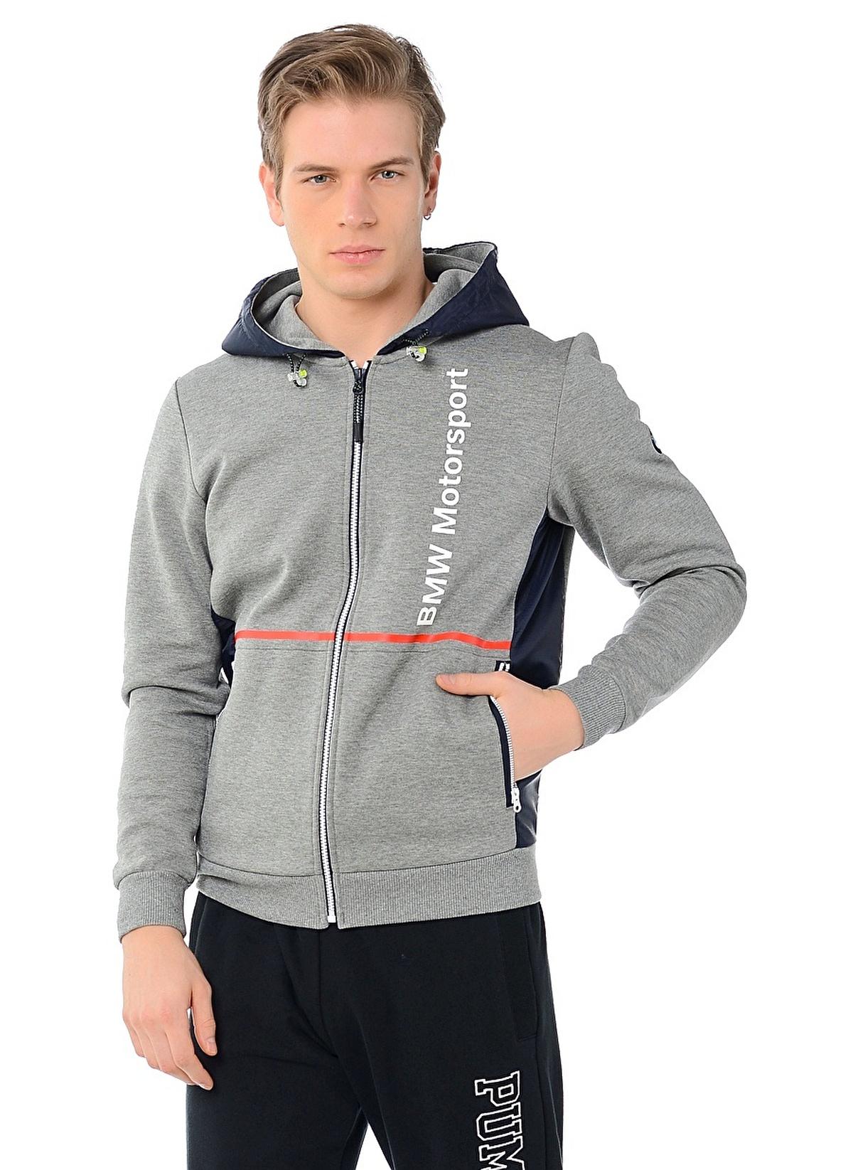Puma Erkek Sweatshirt Medium Gray Heather Morhipo 16429861